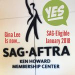 Now SAG-Eligible!